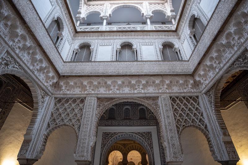 Intérieur de l'Alcazar de Séville