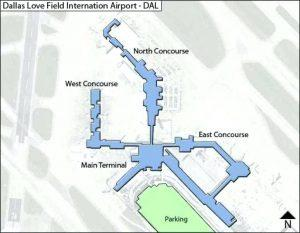 Dallas Love Field Airport Parking Travelcar